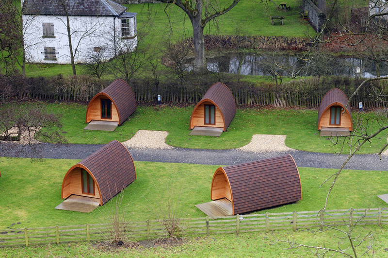 Camping Pods Wales Dog Friendly